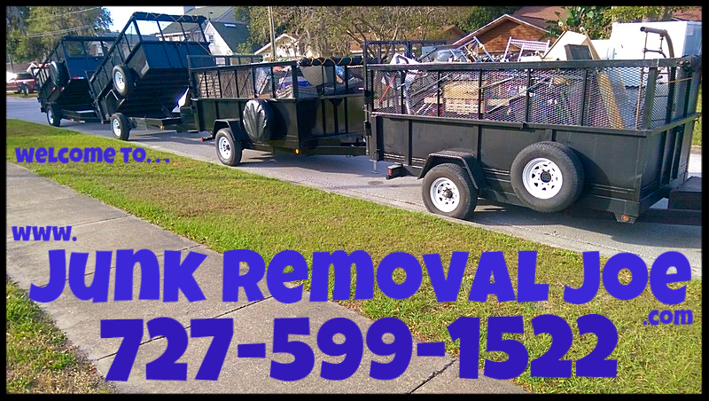 Junk Removal Joe 727 599 1522 Palm Harbor Florida