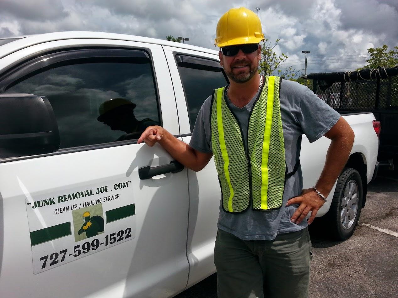 Junk Removal Joe -727-599-1522 – Palm Harbor, Florida